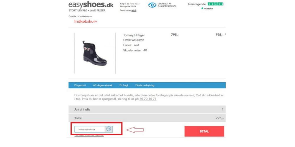 10% EasyShoes Rabatkode & 5 Tilbud (Marts 2020) Danmark